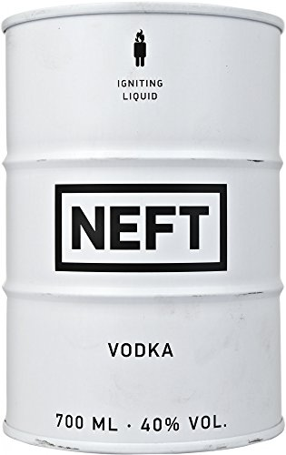 NEFT Vodka White Barrel Plain Vodka, 700 ml