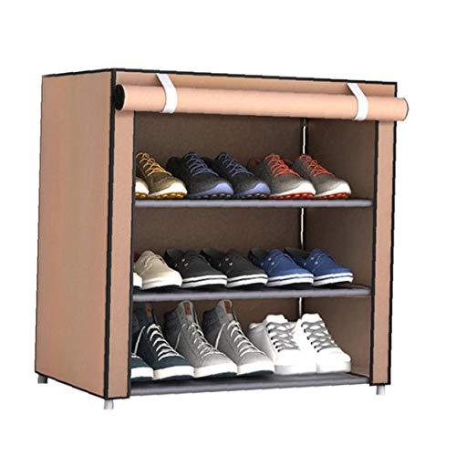 La Tela No Tejida Zapatos Rack Zapatos Organizador Habitación Dormitorio Del Zapato Atormenta Práctico Y Utilidades