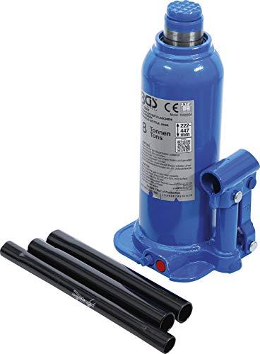 BGS 9884 | Hydraulischer Flaschen-Wagenheber | 8 t | Stempelwagenheber / Kompakt-Wagenheber
