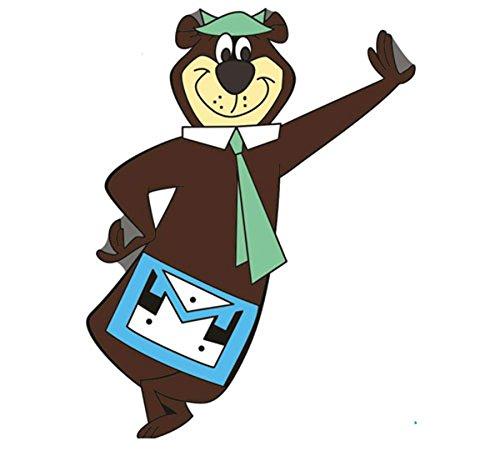 Freimaurer-Yogi-Bär-Abzeichen