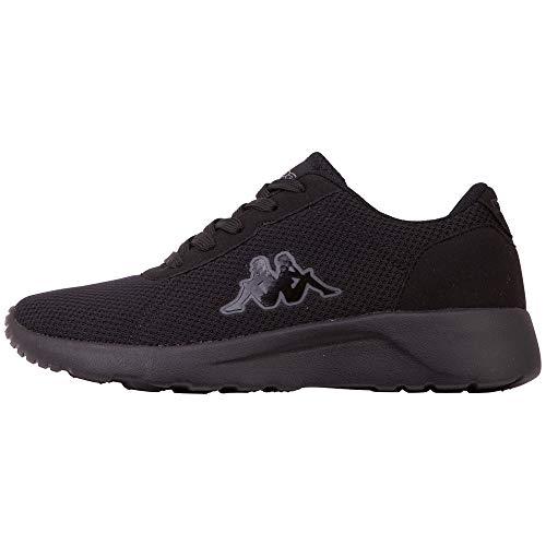 Kappa Damen Tunes OC W Sneaker, 1111 Black, 41 EU
