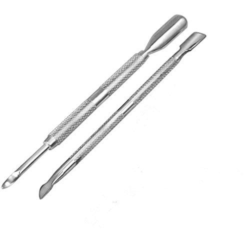 chaud Girll en acier inoxydable cuticules Pusher Cutter tondeuse Soins de la peau Outil de soin des ongles