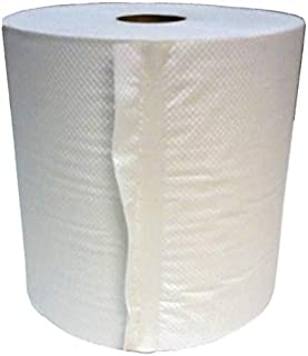 North American Paper 893606 White 800 Classic Hard Wound Roll Towel