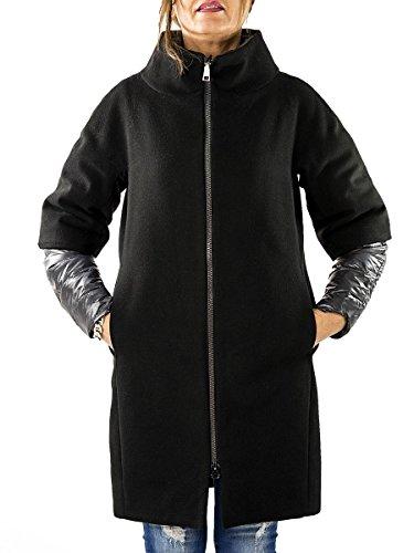 Ad-Hoc - Abrigo impermeable - para mujer negro 40