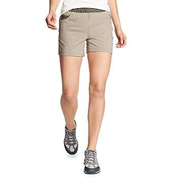 Eddie Bauer Women s ClimaTrail Shorts - Color Block Stone Regular 6