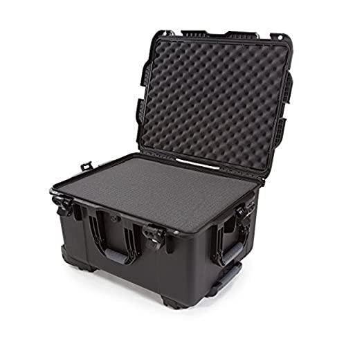 Nanuk 960 Waterproof Hard Case with Wheels and Foam Insert - Black