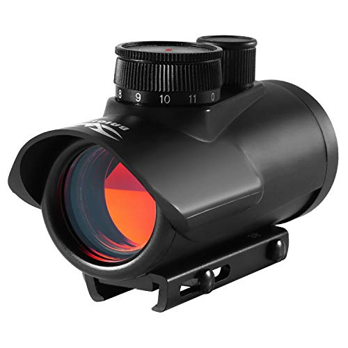 JASHKE Red DOT Sight Scope 1x30mm Holographic Sight Rifle Scope Sights with 11mm/20mm Weaver/Picatinny Rail Mount for Hunting