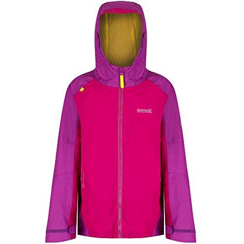 Regatta Boys Girls Allcrest II Waterproof Breathable Rain Jacket