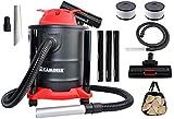 Kaminer Aspiradora de acero inoxidable de cenizas (3 en 1 filtro HEPA 8790) 20L 2000W