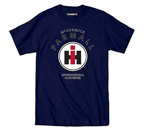 Mccormick Farmall Circle IH Logo Adult - Camiseta gráfica de Manga Corta para Hombre,XXL
