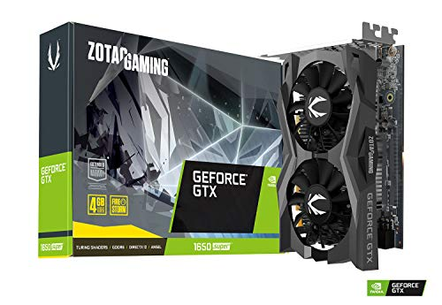 Zotac GeForce GTX 1650 SUPER 4GB Boost Graphics Card, ZT-T16510F-10L