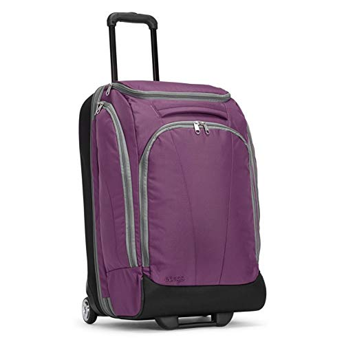 eBags TLS Mother Lode Junior 25' Rolling Duffel Bag Luggage - (Eggplant)