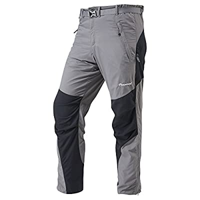 Montane Men's Regular Leg Pants-Graphite, Small