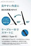 Acer 15.6型モバイルモニター 重さ0.97kg 薄さ2cm PM161Qbu IPS 非光沢1920x1080 16:9 220cd 7ms USB Type-C_05