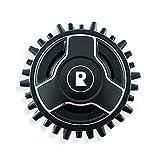 Robomow MRK9011A Ruedas con púas para Robots cortacésped Modelos RX, Negro