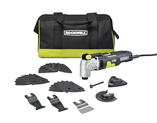 Why Choose Rockwell RK5142K 4.0 Amp Sonicrafter F50 Oscillating Multi-Tool, with Variable Speed, Hyp...