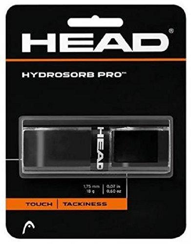 Head - Basis-Griffband Hydrosorb Pro - Touch Tackiness - schwarz - 1 Stück - optimale Schweiß-Absorption, extra griffige Elastomer-Oberfläche