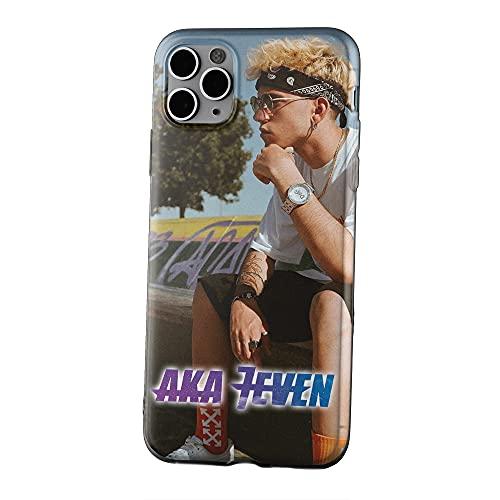 Cover Aka7even Mi manchi loca Canzoni Amici Smartphone Custodia per Modelli Apple iPhone Samsung Huawei Idea Regalo Collezione Telefono Musica 2