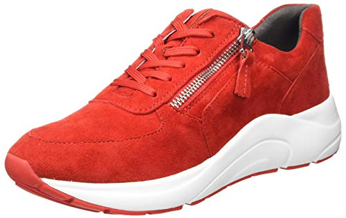 CAPRICE Damen 9-9-23705-25 Sneaker, RED Suede, 40 EU