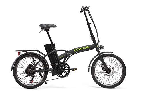 BIWBIK Bici elettrica Pieghevole Book 300