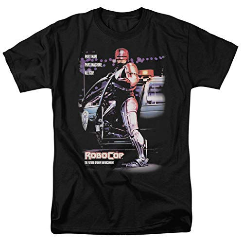 Adults Official Robocop Movie Poster T Shirt & Sticker, S to 5XL