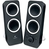 Logitech Z200 2.0 Speaker System - Black - LED Indicator - TAA Compliance