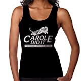 Photo de Tiger King Carole Did It Rescue Logo Joe Exotic Women's Vest