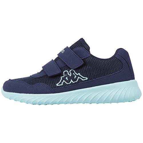 Kappa Unisex Kinder Cracker II BC Kids Sneaker, 6737 Navy/Mint, 28 M EU