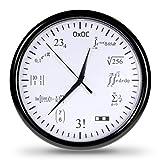 getDigital Matheuhr Wand Mathe-Uhr-Verschlüsselte Wanduhr mit vielfältigen Mathematik...