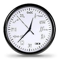 PI MAL DAUMEN? – Damit kommst du bei dieser Uhr nicht weit. Um hier die Uhrzeit zu entschlüsseln, sind 12 verschiedene Mathe-Aufgaben zu lösen. Aber keine Sorge: Die Ergebnisse entsprechen der bekannten Reihenfolge jeder analogen Uhr! AUSGEFALLENE DE...
