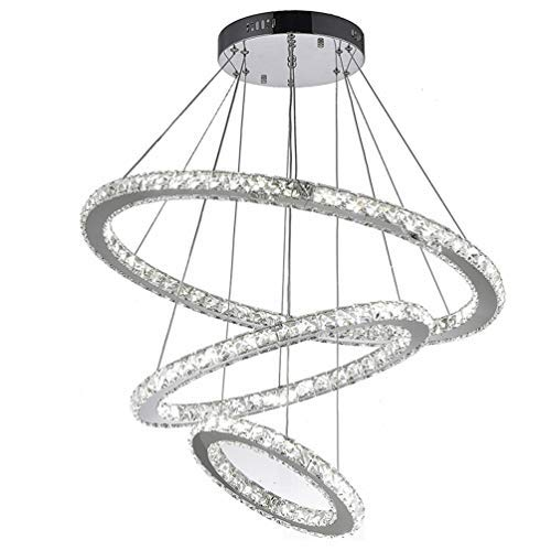 Moderne LED hanglamp aluminium metalen hanglamp in hoogte verstelbaar hanglamp voor kantoor LED paneel hanglamp, voor eettafel bureaulamp slaapkamerlamp grijs ontwerp ronde kroonluchter 15W