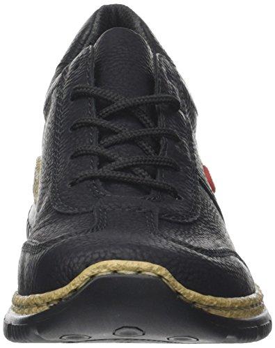 Rieker Damen Sneaker, (schwarz/fumo) - 3