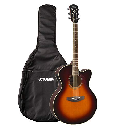 Yamaha CPX600OVS - Guitarra electroacústica, Marrón (Old Violin Sunburst)