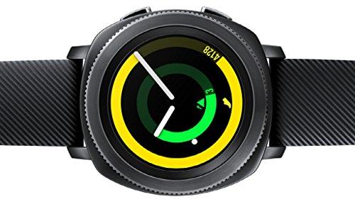 SAMSUNG Gear Sport - Smartwatch (1.2', Tizen, 768 MB de RAM, Memoria Interna de 4 GB),...