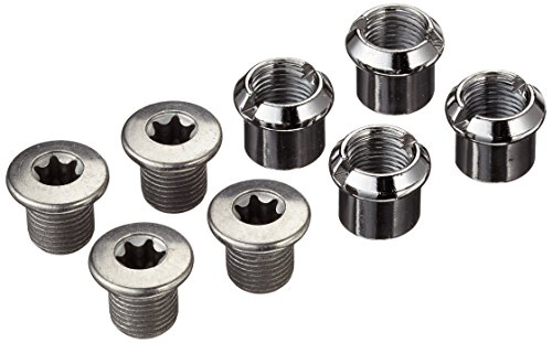 SHIMANO SLX FC-M670 Kettenblattschrauben, Silber, M 8X 8,5 mm