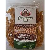 Castagno - Espirales 100% Garbanzos Eco 250Gr
