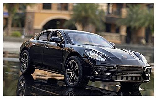 Diecast Model Car 2020 NUEVO 1:32 para Panamera Aleación de automóviles Modelo Diecasts Vehículos de juguete Sound Light Toy Cars Juguetes para niños Para Niños Regalos Chico Juguete (Color: Blanco) w