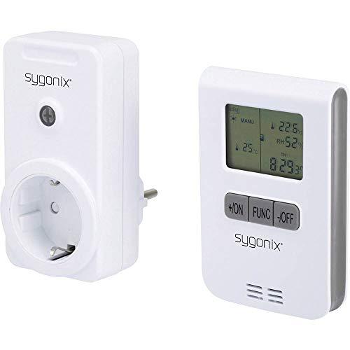 sygonix RS2W Steuerungsset für Heizung ohne Kabel, Schaltleistung max. 3500 W Radius