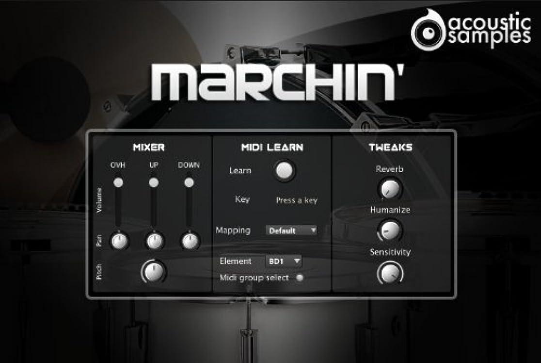役立つ安心させるモザイクMarchin -パーカッション音源-