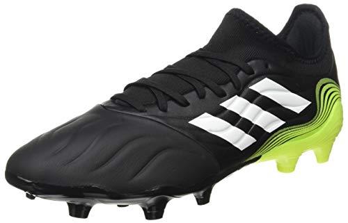 adidas Copa Sense.3 FG, Zapatillas de fútbol Hombre, NEGBÁS/FTWBLA/Amasol, 42 EU