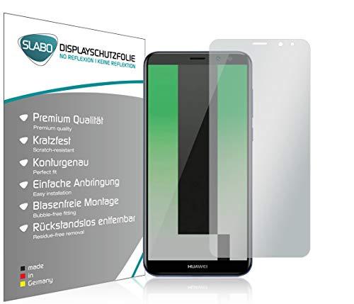 Slabo 4 x Pellicola Protettiva per Display per Huawei Mate 10 Lite No Reflexion Opaca