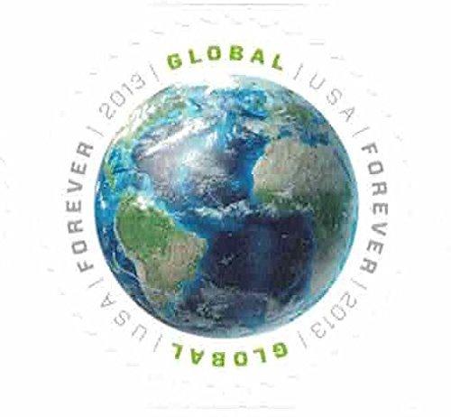 Global Forever Sheet 20 - Earth Stamps Scott 4740