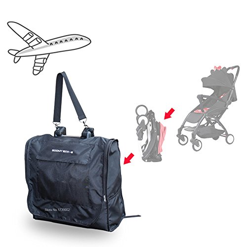 Baby Pram Transport Bag Compatible for Babyzen Yoyo/Yoyo+, Durable and Lightweight Stoller Travel Bag with Backpack Straps for Storage and Airport Gate Check
