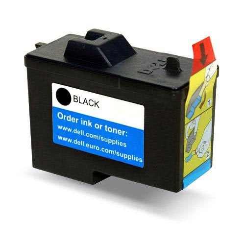 Dell GENUINE Original Black Ink Cartridge 7Y743 Series 2 for A940 A960 Inkjet Printers, FOIL SEALED