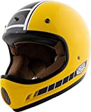 Casco Integral para Moto Cross Vintage, Talla