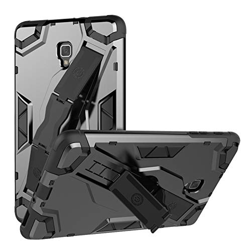 QiuKui Tab Cover For Samsung Galaxy Tab S3 9.7 T820 T825 SM-T820, Heavy Duty Shockproof Tablet Case Hybrid Armor Case For Samsung Galaxy Tab S3 9.7 inch (Color : Gray)