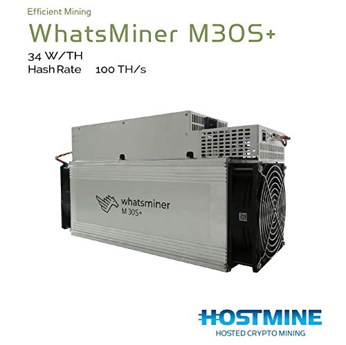 MicroBT Whatsminer M30s+ 100 TH/s Bitcoin Miner
