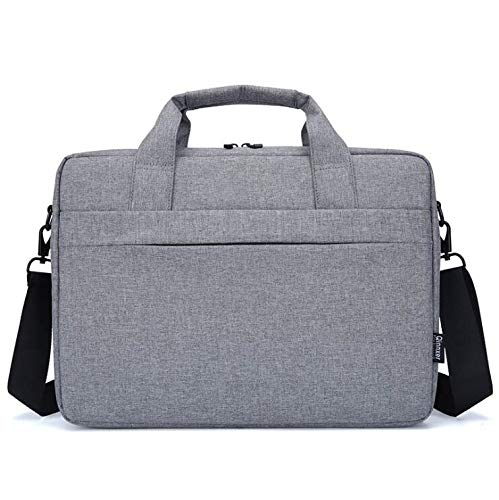 ARMAC 15.6 Men Canvas Laptop Bag Messenger Waterproof Shoulder Leather Bag Computer Briefcase Notebook Satchel Designer School Work Bags