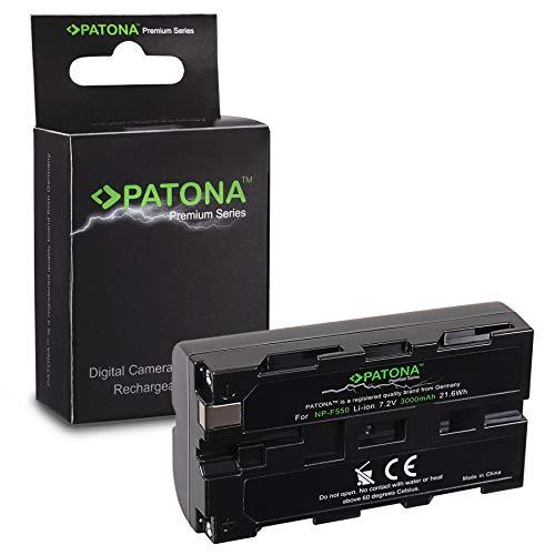 PATONA Premium Batteria sostituzione per Sony NP-F550, NP-F330, NP-F530, NP-F750, NP-F930, NP-F950, con nuove celle di alta qualità
