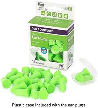 10-Pairs Flents Sleeping Ear plugs